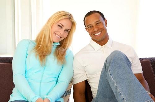 Tiger Woods en couple avec Lindsey Vonn