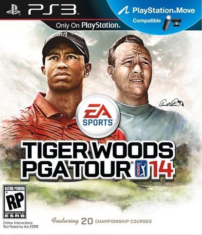 Nouvelle jaquette pour TIGER WOODS PGA TOUR 14