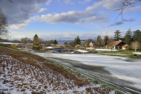 Trou 18 Evian Championship cet hiver