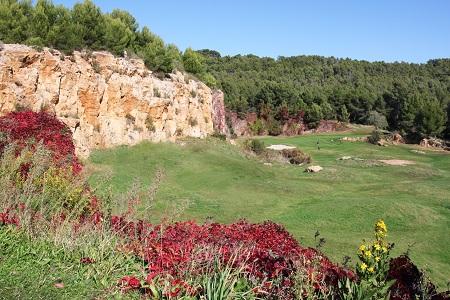 Trou numéro 3 du parcours de golf Dolce Frégatte