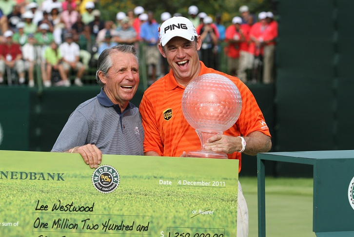 Westwood remporte le Nedbank Golf Challenge