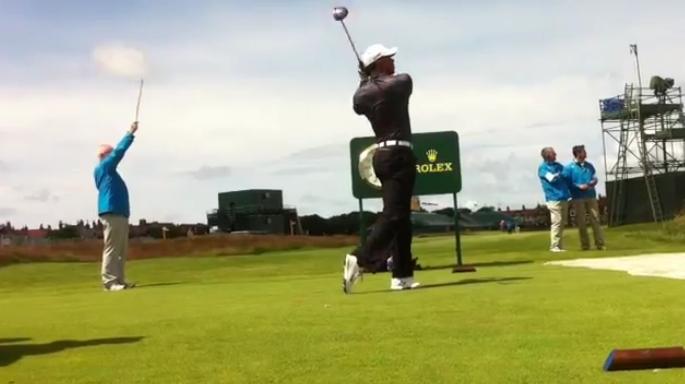 Va t'on voir Woods à l'attaque dimanche sur les tees de départ du British Open 2012 ?