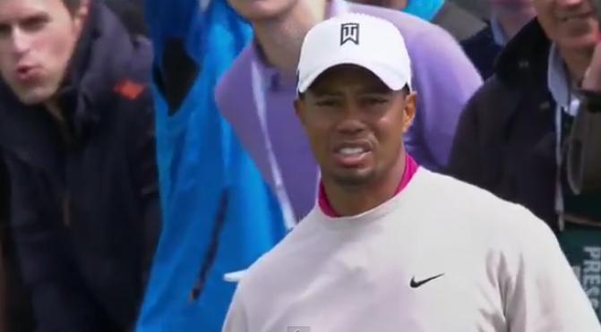 Tiger Woods aurait aimé jouer encore un peu mieux sur ce premier tour du British Open 2012